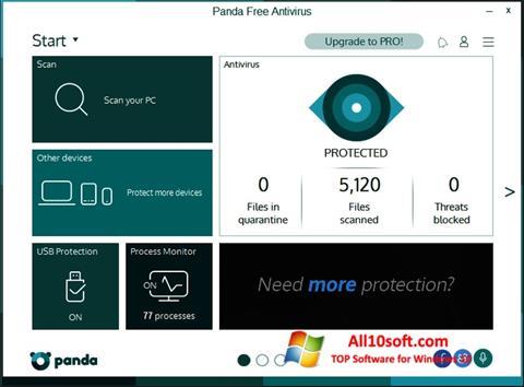 Screenshot Panda para Windows 10