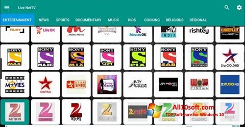 Screenshot Net TV para Windows 10