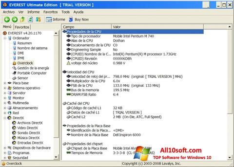 Screenshot EVEREST Ultimate Edition para Windows 10