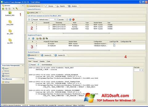 Screenshot Firebird para Windows 10