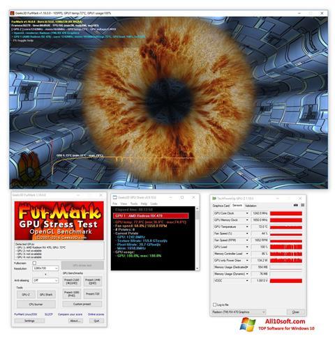 Screenshot FurMark para Windows 10
