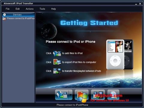 Screenshot iPhone PC Suite para Windows 10