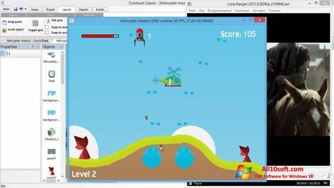 Screenshot Construct Classic para Windows 10