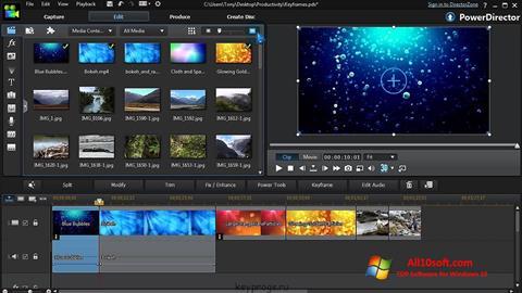 Screenshot CyberLink PowerDirector para Windows 10