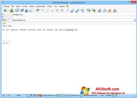 Screenshot The Bat! para Windows 10