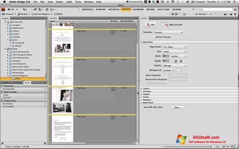 Screenshot PDF Combine para Windows 10