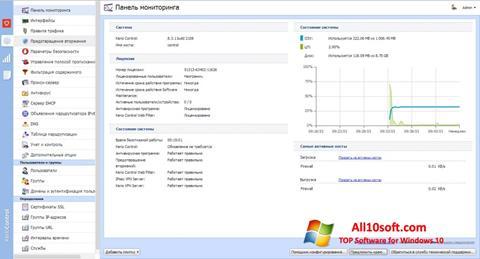 Screenshot Kerio Control para Windows 10