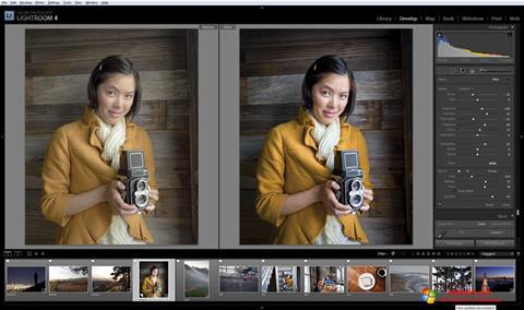 Screenshot Adobe Photoshop Lightroom para Windows 10