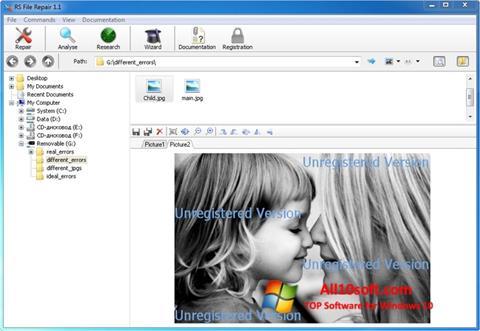 Screenshot File Repair para Windows 10
