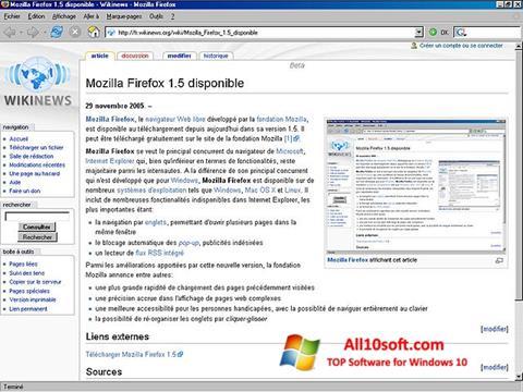 Screenshot Mozilla Firefox para Windows 10