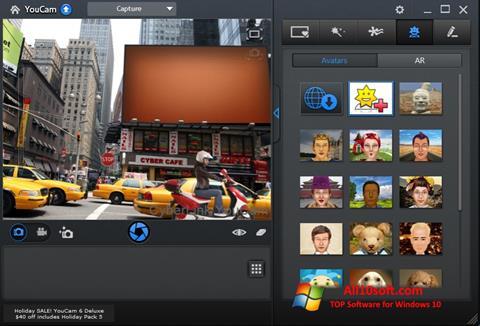 Screenshot CyberLink YouCam para Windows 10