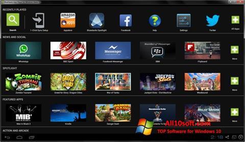 Screenshot BlueStacks para Windows 10