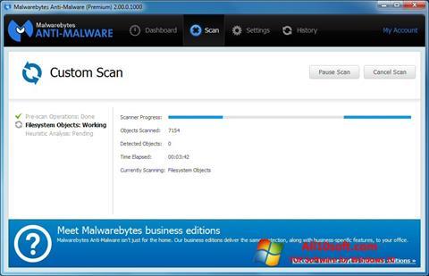Screenshot Malwarebytes Anti-Malware Free para Windows 10