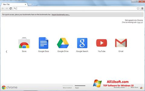 Screenshot Google Chrome para Windows 10
