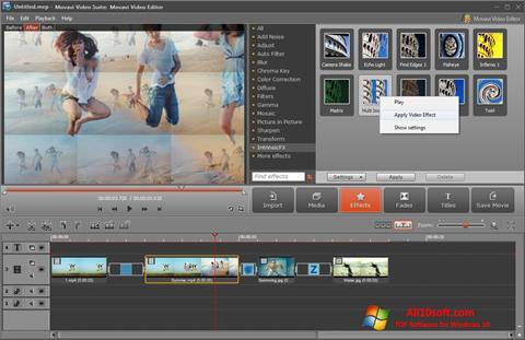 Screenshot Movavi Video Suite para Windows 10