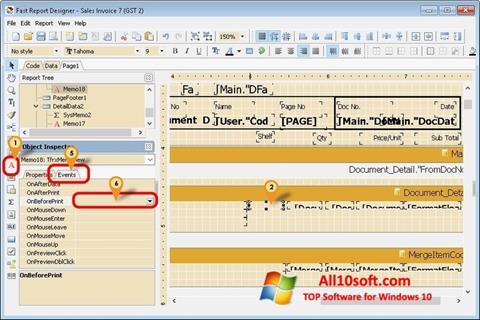 Screenshot FastReport para Windows 10