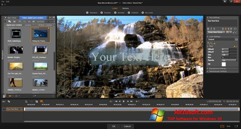 Screenshot Pinnacle Studio para Windows 10