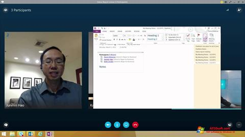 Screenshot Skype for Business para Windows 10