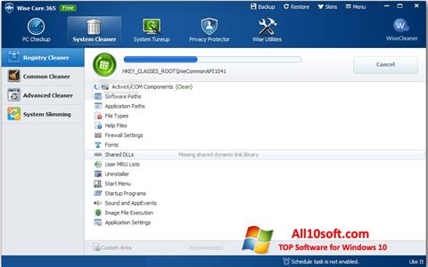 Screenshot Wise Care 365 para Windows 10