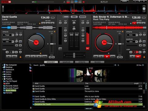Screenshot Virtual DJ Pro para Windows 10