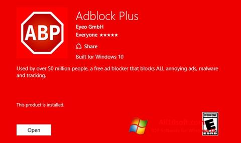 Screenshot Adblock Plus para Windows 10