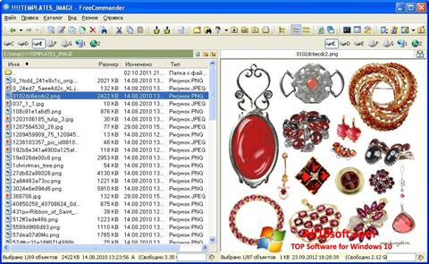 Screenshot FreeCommander para Windows 10