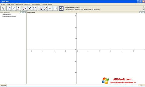 Screenshot GeoGebra para Windows 10